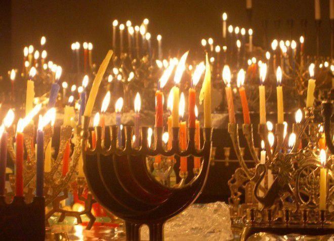Ханука - праздник свечей