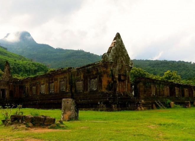 Развалины храма Пу Чампасак