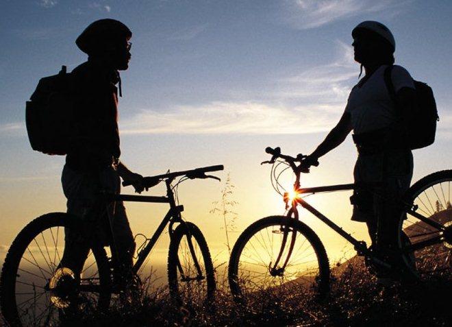 Поездка в горы на велосипедах