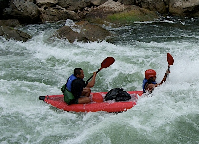 Рафтинг на реке Nam Lik
