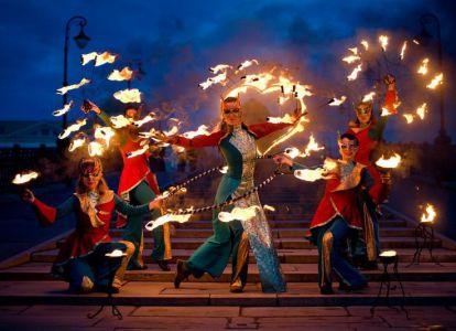 Фестиваль огня - костер Бургзонндег