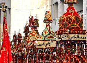Шествие восковых свечей в Сале