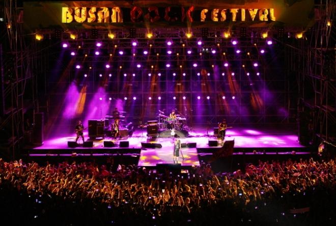Музыкальный фестиваль в Пусане