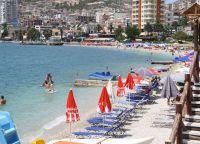 Пляж курорта Саранда