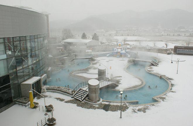 Горячие источники отеля Парадайз Спа Того, Южная Корея