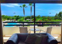 Вид из окна отеля Grecian Bay