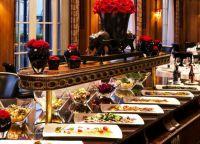 Шведский стол в отеле  Bellevue Palace