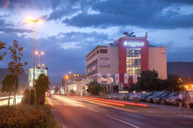 Hotel Aurel - спа-отель в столице