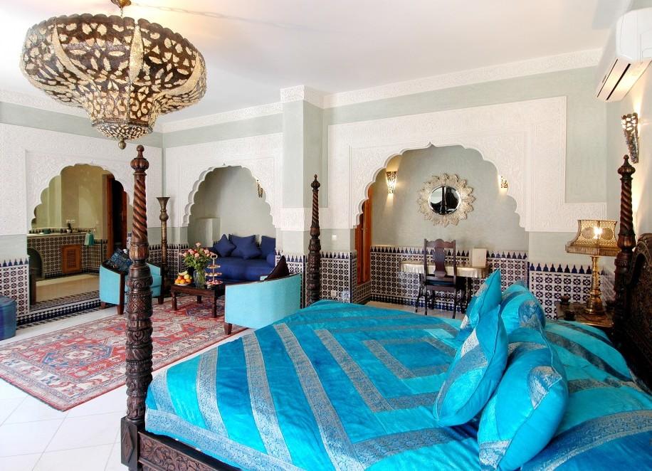 Традиционный марокканский риад
