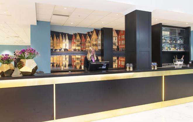 Thon Hotel Rosenkrantz Bergen - один из лучших отелей Бергена