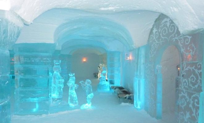 Ледяной отель Sorrisniva Igloo