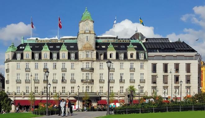 Grand Hotel - известнейший исторический отель в Осло