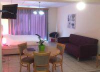 В одном из номеров отеля Vrachia Beach Resort