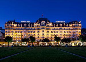 Fairmont Le Montreux Palace. Монтре