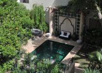Внутренний двор La Maison de Tanger