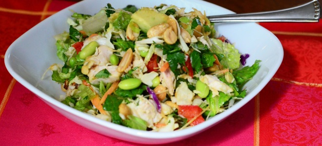salát sójového masa recept