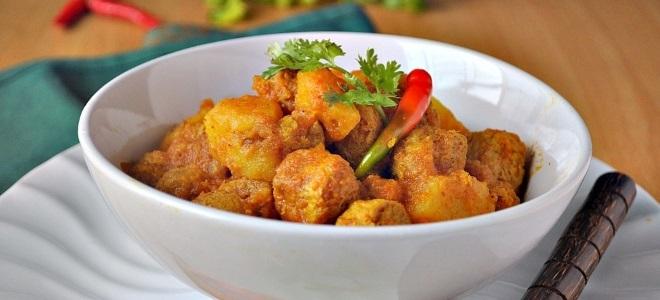 месо у рецепту од соје сосу у тигању