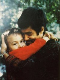 Брюс Ли с сыном Брэндоном