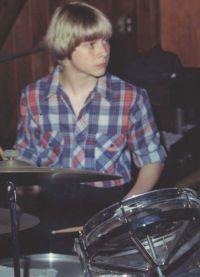 Курт Кобейн в юности