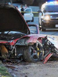 Пожар практически уничтожил автомобиль