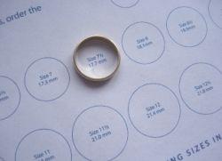 Изменить размер кольца