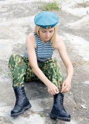 kako ići služiti u vojnoj djevojci