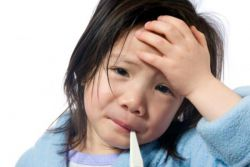 колко струва температурата при деца с ангина