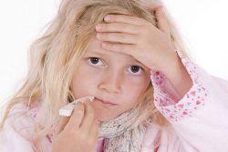 колко дни детето има грип
