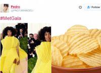Соланж Ноулз и картофельные чипсы