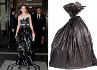 Мишель Монаган и мусорный пакет