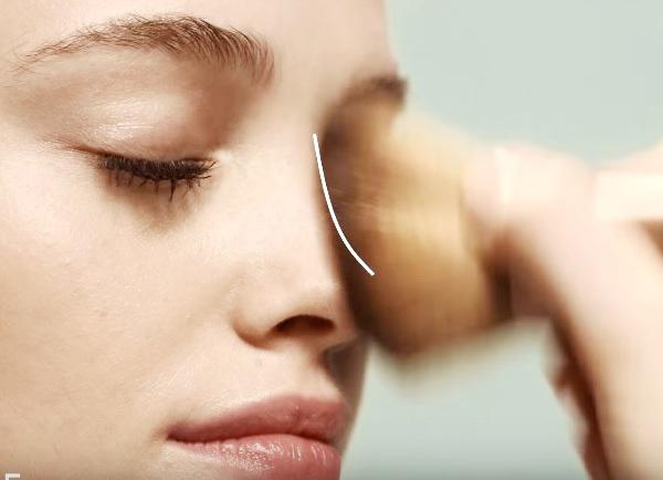 kako uporabljati bronzer za obraz 5
