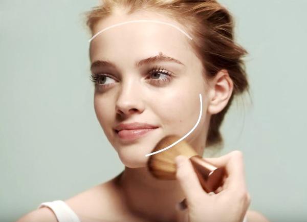 kako uporabljati bronzer za obraz 6