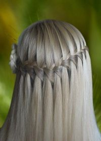Француски плетеница за кратку косу 1