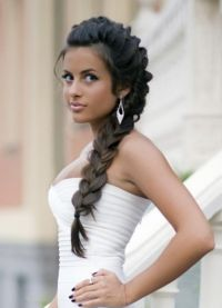 Француски плетенице за дугу косу 3