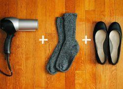 Как да се извършват тесни обувки