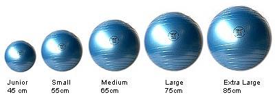jak wybrać odpowiedni fitball