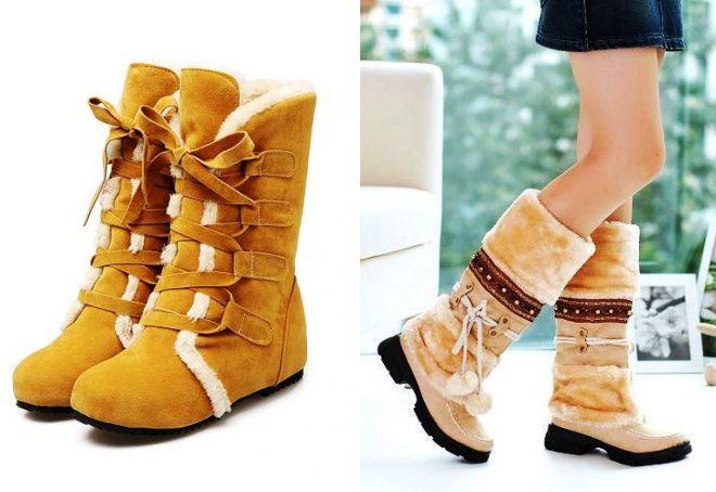 как выбрать теплую зимнюю обувь