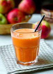 jak gotować sok z marchwi jabłkowej