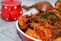 kako kuhati chakhokhbili