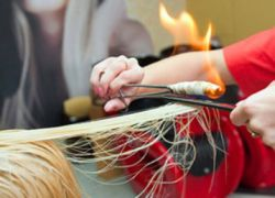 Jak leczyć włosy ogniem 2