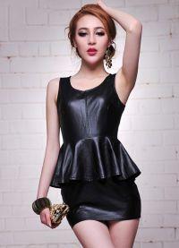 jak zdobit černé šaty 2