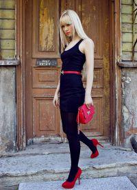 jak zdobit černé šaty 8