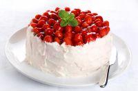 как украсить торт фруктами в домашних условиях 2