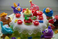 как украсить детский торт 1