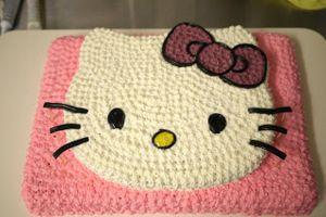 Как красиво украсить детский торт на день рождения кремом 7
