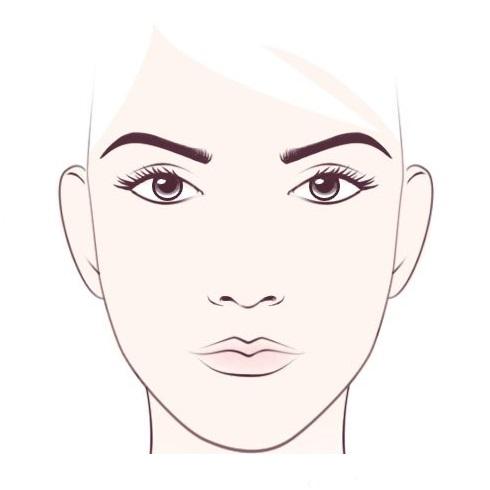 квадратни облик лица 2