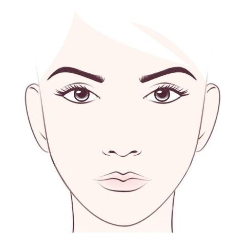 квадратни облик лица 3