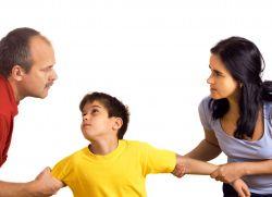 jak zostawić dziecko z ojcem podczas rozwodu