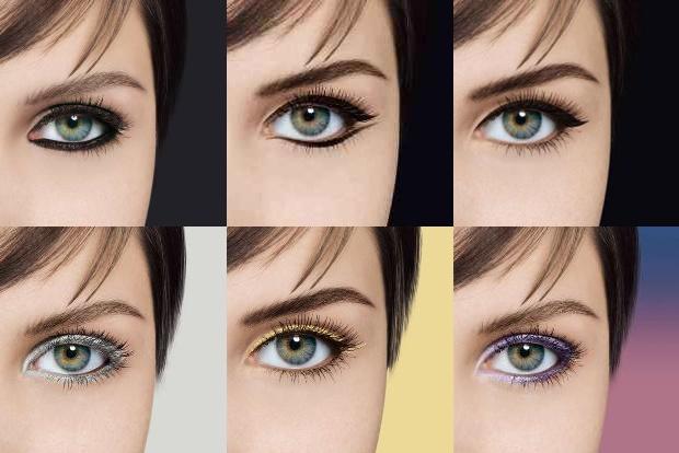 Варианты стрелок для глаз