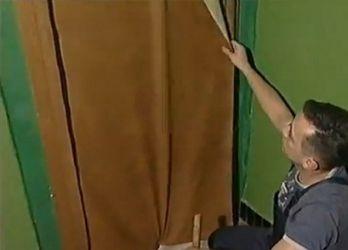 Jak tapicerować drzwi dermantin4